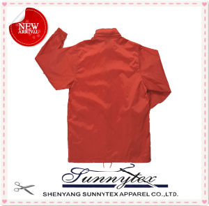 high Quality Short Design Zipper Raincoat with Mini Pocket All in One pictures & photos