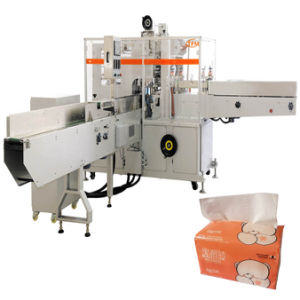 Softpack Serviette Packing Machinery Face Tissue Packaging Machine pictures & photos