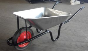 Sri Lanka Style Solid Wheel Wheelbarrow Wb3800 pictures & photos