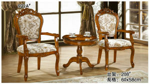 Wooden Table with Veneer, Round Table, Coffee Table, Side Table (208) pictures & photos