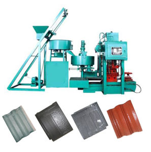 Press Concrete Roof Tile Making Machine