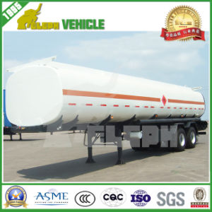 3 Axles 45000L Fuel Tanker Semi Trailer