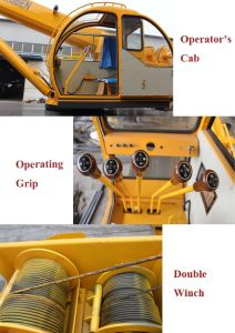 Full Set Certificates Mobile 16 Ton Truck Crane with Lifting Arm for Sale pictures & photos