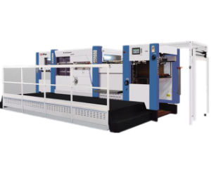 Semi Automatic Cardboard Die Cutting Creasing Machine pictures & photos