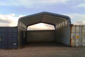 Container Garage Roof Storage Tent (C2020D)