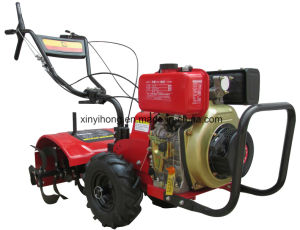 186f Diesel Engine 9HP Rotary Power Tiller pictures & photos