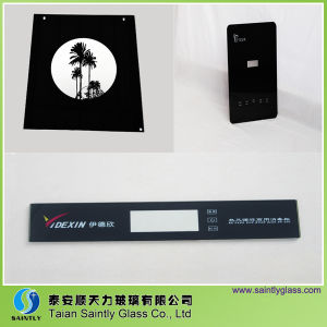Tempered Glass with Black Printing for Home Appliance pictures & photos