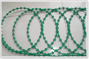 PVC Razor Barbed Wire pictures & photos
