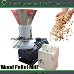 100-150kg/H Flat Die Small Pellet Machine for Biomass Wood Sawdust pictures & photos