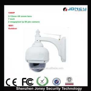 1080P 2 Megapixel 4X Zoom WiFi PTZ Outdoor Dome IP Camera pictures & photos