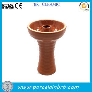 Single Design Ceramic Shisha Brown Hookah pictures & photos