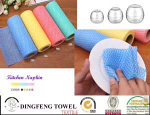 Non Woven Tissue Kitchen Paper Towel & Facial Paper Cloth pictures & photos