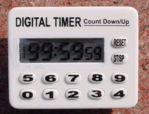 Kitchen Digital Timer Plastic Material pictures & photos