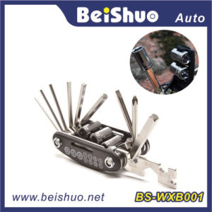16 in 1 Hot Selling Bicycle Repair Tool Set with Multifunction pictures & photos