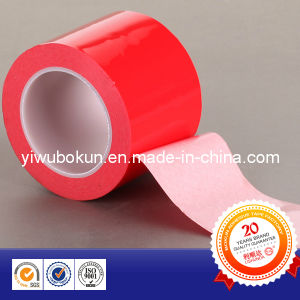 Vhb White Double Side Foam Tape with Red Release PE Film pictures & photos