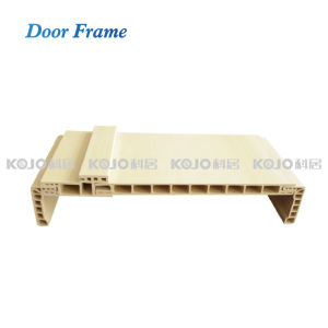 New Material Wood Plastic Compisite Door Frame 5.0mm Architrave (MT-6012B) pictures & photos