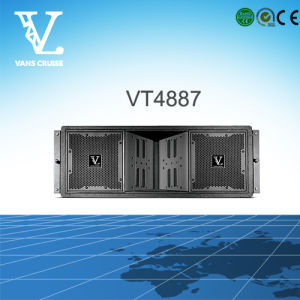 Vt4887 3-Way Dual 8inch Line Array Sound System Made in China pictures & photos