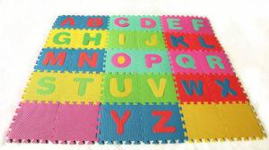 24PCS Interlocking EVA Foam Soft Mat Educational Letters Mat Puzzle Tile for Kids Baby pictures & photos