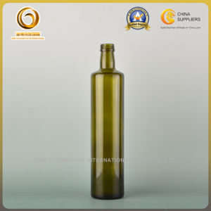 750ml Olive Oil Bottle Round Type Antique Green (442) pictures & photos