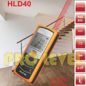 Hand-Held 60m Professional Laser Distance Meter (HLD40) pictures & photos
