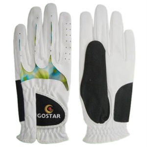 Women′s Synthetic Leather Golf Glove (PGL-73) pictures & photos