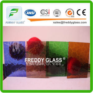Good Quality Patterned Glass/Colored Patterned Glass/ pictures & photos