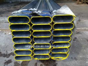 ERW Flat Elliptical Precision Steel Tube pictures & photos
