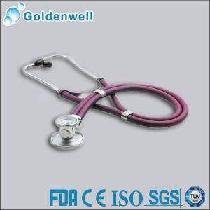 Dual Head Stethoscope with Inner-Spring Binaural (JS015)