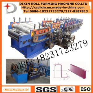 Simple Operation C Z U Purlin Forming Machine pictures & photos