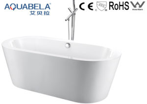 China Bathtub Manufacturer Acrylic Solid Surface Hot Bathtubs (JL603) pictures & photos