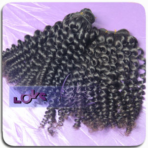 Unprocessed 100% Kinky Curly &Wave Bazilian Virgin Hair Extension
