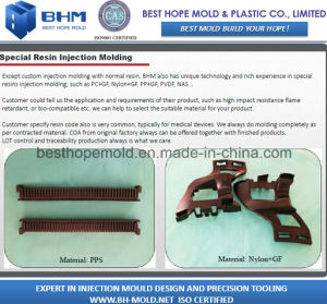 Special Resin Molding (Nylon+GF Part Moulding) pictures & photos