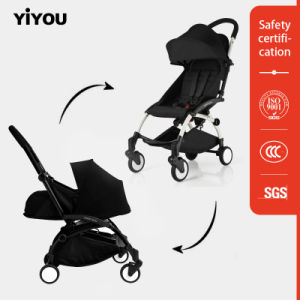 Yiyou En1888 Baby Stroller with Foldable and Detachable Canopy pictures & photos