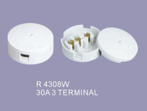 Good Price 30A 3 Terminal Junction Box Ceiling Rose pictures & photos