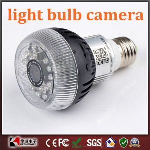 Night Vision LED Lamp Design Hidden Bulb Camera Mini Digital CCTV Security DV DVR with Remote Control pictures & photos