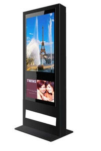 72 Inch Outdoor Wall Mounted Air Cooling Sunlight Readable Water Proof Network LCD Digital Signage pictures & photos