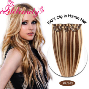 Wholesale Hair New Products Virgin Remy Hair Clip in/on Human Hair Extension pictures & photos