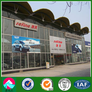 Curtain Glass Wall Prefab Building for Car Exhibition Hall (XGZ-SSB105) pictures & photos