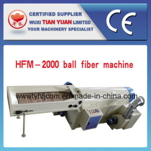 Nonwoven Polyester Siloconized Fiber Ball Fiber Machine pictures & photos