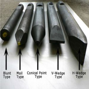 Mkb500 High Intensity Blunt Chisel Used in Hydraulic Breaker Hammer with Factory Price pictures & photos