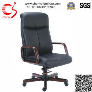 Density Foam Wooden Armrest Director Office Chair (CY-8090KTG)