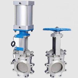 Flange Bevel Gear Knife Gate Valve pictures & photos