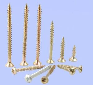 DIN7997 Flat Countersunk Head Wood Screws/DIN7973 Raised Countersunk Head Tapping Screw with Slot