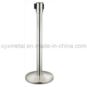 Mobile Retractable Belt Barriers Movable Stainless Steel Fence pictures & photos