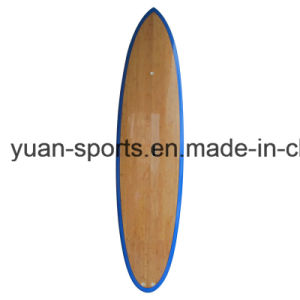 2017 EPS Core Bamboo Veneer Surface Stand up Paddle Surfboard pictures & photos