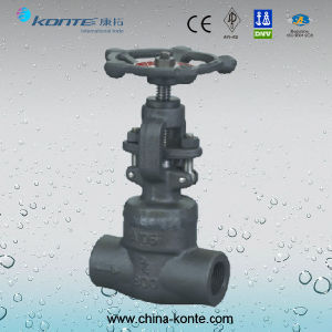 Forged Socket Welding Globe Valve pictures & photos