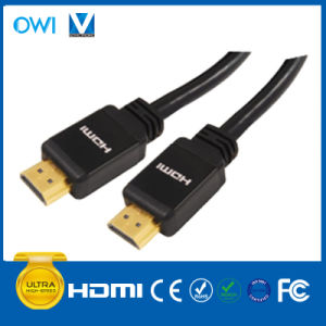 Black HDMI 19pin Plug to Plug Cable for Cellphone Camcorders HDTV pictures & photos