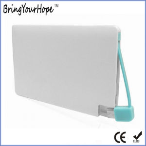 White Color Card Power Bank (XH-PB-045) pictures & photos