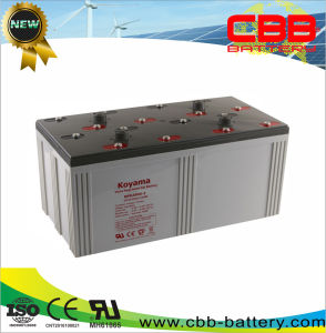 2V 2500ah Solar Gel Power Storage Battery for Solar Systems Nps2500-2 pictures & photos