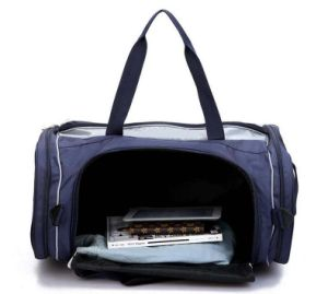 Waterproof Fancy Travel Bag with Shoe Compartment Sh-16042629 pictures & photos